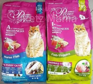 LCB Prime Blue WELLNESS cat dry food 6kg
