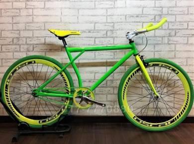 BARU FIXIE 26IN BASIKAL BARU BIKE Bicycle