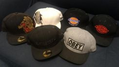 New Era Fitted Caps by Macbeth, Obey, Dickies