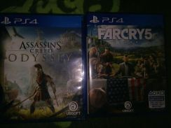 Ps4 Assassin Creed Odyssey & Far Cry 5