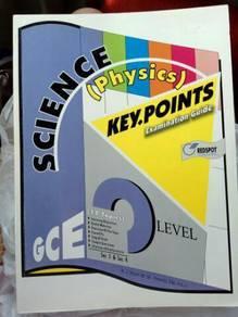 Chemistry, physics key points (gce o level/igcse)