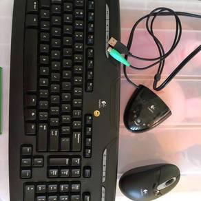 Logitech Wireless Keyboard & Mouse
