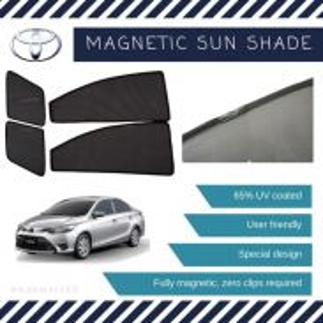 Toyota Vios Magnetic Sunshade