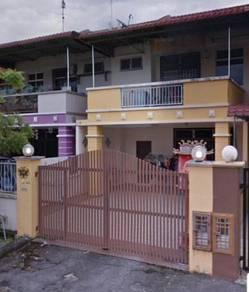 Pulai utama double storey full loan unit(renovated)