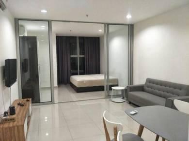 3 Elements Condo studio apartment fully furnish Seri Kembangan UPM