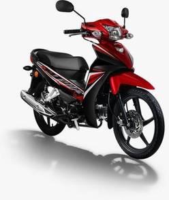 Riang Ria Raya Promo Honda Alpha 110 Tahun 2019