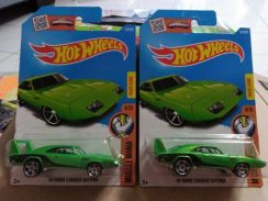 Hotwheels '69 Dodge Charger Daytona Green