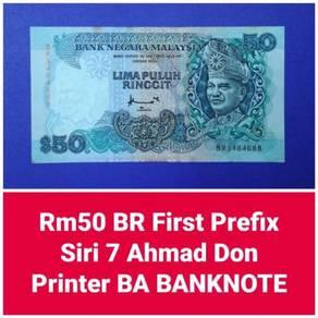 JanJun RM50 7th 1st Prefix Siri 7 Ahmad Don 1995