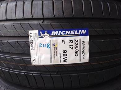 225/50/17 Michelin Primacy 4 ST Tyre Tayar