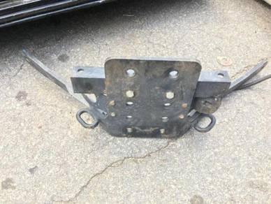 Land Rover Defender puma towbar
