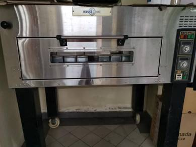 Single deck 2 tray gas oven for sale