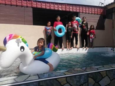 Homestay miqaila port dickson mini pool