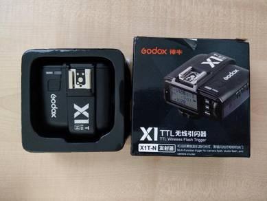 Godox X1T trigger untuk Nikon