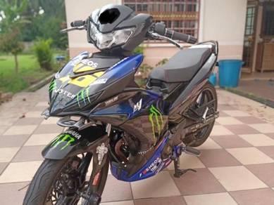 2017 Yamaha Y15zr Monster Energy