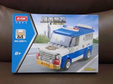 Brick Police Prisoner Car 20011