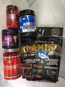 Amino stix. amino energy , bsn amino x (POWER!!!!!