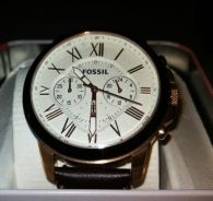 Fossil watch fs4991 rose colour
