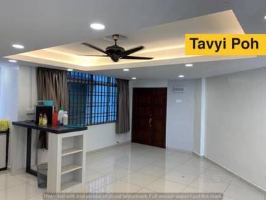 Jade View Apartment Bukit Gambier Gelugor new reno 1 fix carpark