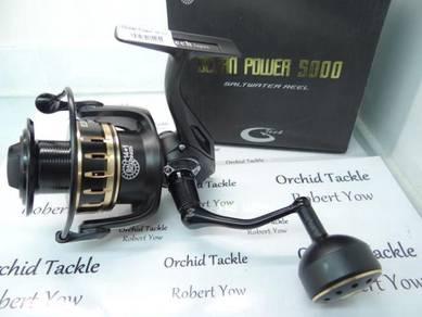 G Tech Ocean Power NEW16 5000 fishing pancing reel