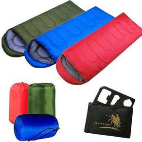 Travel Free Knight Sleeping Bed Bag Tent Khemah