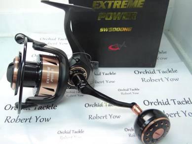 G Tech Extreme Power SW5000HG pancing fishing reel