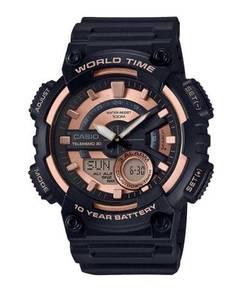 Watch - Casio Telememo AEQ110W-1A3 - ORIGINAL