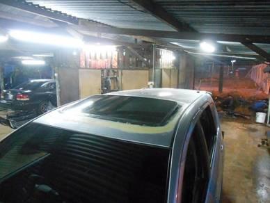 Sunroof 2 step untuk Perodua Alza