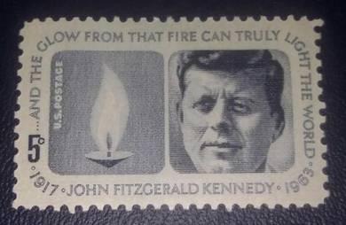US Postage John Kennedy Memorial 1964 5c
