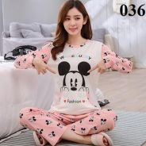100% Authentic Cotton Ladies Pyjamas - 036