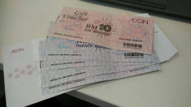 Voucher AEON RM 150 (Undevalued)