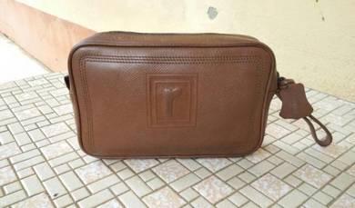 Clutch Bag Renoma Logo Ori Leather