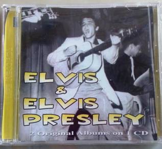 IMPORTED CD Elvis & Elvis Presley CD