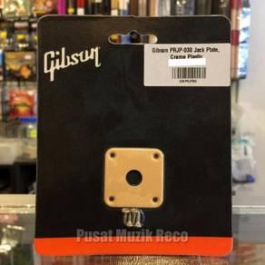 Gibson PRJP-030 Guitar Jack Plate - Creme Plastic