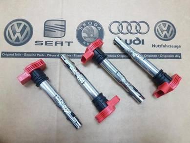 Audi Volkswagen VW R8 Red Ignition Spark Coil Pack