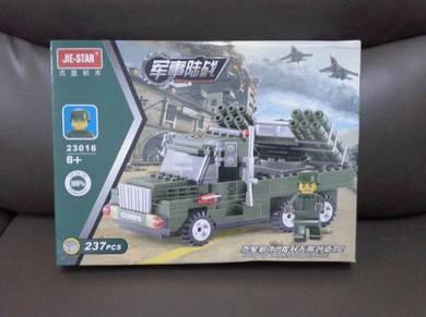 Brick Army Anti-aircraft Missile 23016 Jie-Star