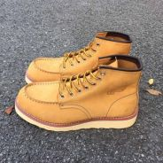 Red wing camel brown suede