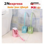 Double Sided Toilet Brush and Brush holder