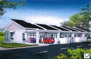 Rumah Teres Baru Setingkat Di Kempadang, Kuantan(20x108)