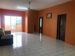Merdeka Villa Apartment with New Air-cond Well neaby LRT