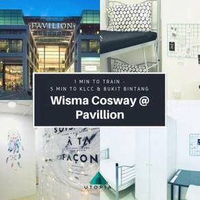 Wisma Cosway, 1min to Pavillion, Monorail Raja Chulan, SAFE & ALL NEW