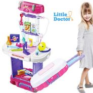 3 in 1 Little Doctor Set + Luggage Style + Music L