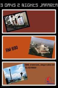 Erwin travel- 3d2n jakarta