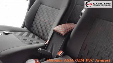 Perodua Axia OEM PVC Armrest Console Box