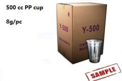 500cc PP cup