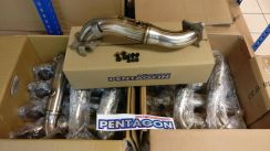 Pentagon Downpipe Honda Civic X FC Turbo 1.5