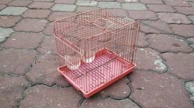 Sangkar Burung Bird Cage Pink (L.21cm) * 8-03 D