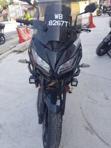 2015 Kawasaki vesys650