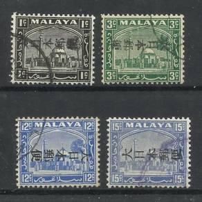 MALAYA -Selangor JAP. OCC 1942 used BL543
