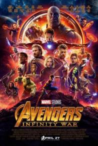 Poster MOVIE AVENGERS INFINITY WAR