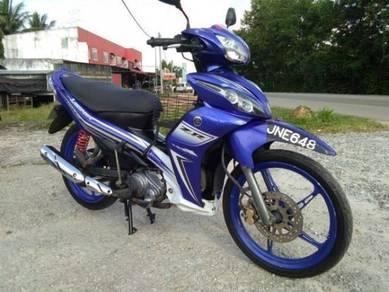 Yamaha Lagenda 115ZR ori BiruGP cantik